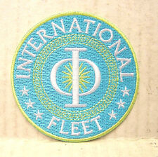 "ENDERS GAME Movie INTERNATIONAL FLEET Logo 3"" Patch- Free S&H (EGPA-001)"
