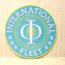 "ENDERS GAME Movie INTERNATIONAL FLEET Logo 3"" Patch- Free S&H (EGPA-001)"