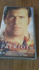 THE PATRIOT- MEL GIBSON - VHS VIDEO