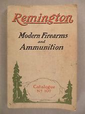 Remington Firearms CATALOG - 1923 ~~ fire arms, rifles, ammunition