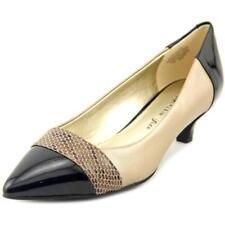 Zapatos de tacón de mujer de piel color principal beige talla 38