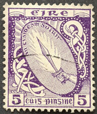 Stamp Ireland 1940 5p Shield Used
