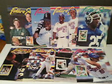 Lot of 8 - Beckett Future Stars Magazines 1991-92 : #1,2,3,6,8,13,17,19