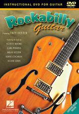 ROCKABILLY GUITAR DVD - CARL PERKINS - BRIAN SETZER NEW
