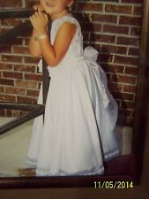 Dimples by Los Angelos Sz 5 white girls special occasion dress/flower girl/bride