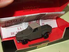 CITROEN 2CV PROTOTYPE PICK UP 1936 NOREV ligne noir défaut pneu craquelée