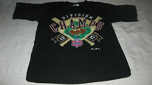 Baltimore Orioles AL Eastern Division Champs 1997 T-Shirt-Size 14/16*NEW NoTAGS.