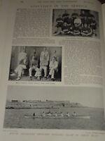 1897 ATHLETICS ROYAL ARTILLERY FOOTBALL ROWING ARMY ETC