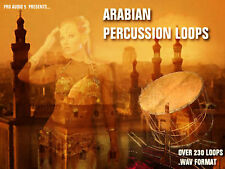 ARABIAN PERCUSSION LOOPS - .WAV SAMPLE CD