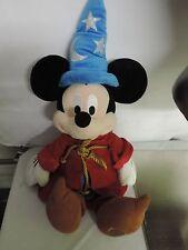 "New listing 24"" Sorcerer Mickey Mouse Plush Stuffed Animal Doll Toy Disney Store Fantasia"