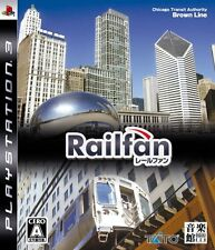 (Used) PS3 Railfan  [Import Japan]((Free Shipping))