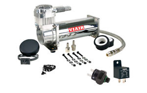 VIAIR 444C Truck Mount Air Compressor Kit - 200 PSI Pressure Switch & Relay, 12V