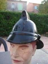 casque pompier cuir   anglais Glasgow  vers  1900 ???