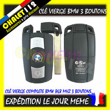 Clé vierge télécommandes BMW E81 E82 E87 E88 E90 E91 E92 E93 E60 E61
