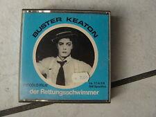 """Buster Keaton""""der Rettungsschwimmer""""-Super 8mm Film,17  meter,s/w."""