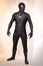 Movie Replica Spider-Man 3 Symbiote Cosplay Comic-Con Costume.