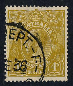 Australia 73 used - King George V