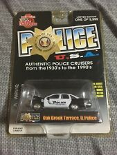 Racing Champions Police USA 1992 Chevy Caprice Oak Brook Terrace IL #104