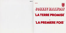 CD JOHNNY HALLYDAY LA TERRE PROMISE PROMO 2 TITRES N°151