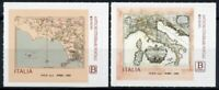 Italy Europa Stamps 2020 MNH Ancient Postal Routes Services Maps 2v S/A Set