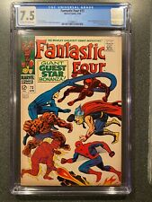 Fantastic Four No.73 CGC 7.5 Spider-Man Daredevil Thor | Marvel 1968