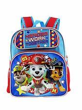 "Paw Patrol Boys Toddler 12"" School Backpack"