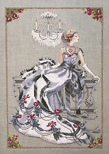 Cross Stitch Chart / Pattern ~ Mirabilia Crystal Symphony Elegant Woman #MD94