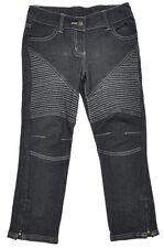 Jeans noir pour fille de 10 à 11 ans