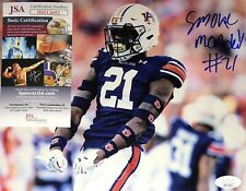 Quindarious Smoke Monday Auburn Tigers Signed 8x10 Autographed Photo Coa Jsa N1