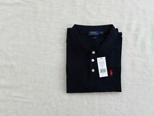 New Ralph Lauren Polo Shirt Slim Fit Black Unisex  With Tags