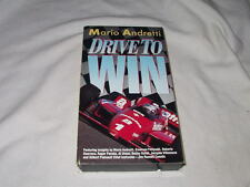 Mario Andretti: Drive To Win VHS Race Car Auto Racing Instruction Driving School
