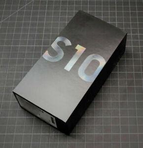 Samsung Galaxy S10 SM-G973U - 128GB - Prism Black Factory Unlocked All Carriers