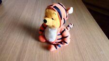 "Disney Winnie The Pooh Dressed as Tigger 7"" Soft Beanie Toy"