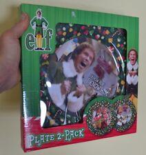 Elfo Buddy Papá Noel ! I know him ! SMILING ES MY FAVORITE! Navidad Plato Pack 2
