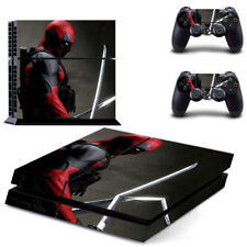 Deadpool PS4 Skin Stickers Sony PlayStation 4 Decal For Console & 2 Controllers