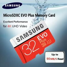 Samsung 32 GB Micro SD Tarjeta SDHC EVO + 95MB/s UHS - 10 TF Tarjeta de memoria I Class HD 4K