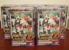 SUPERROBOT CHRONICLE GASHAPON EX  PART 2 FULL SET - 5 BOXES BANDAI VERY RARE