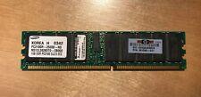 HP 1GB Memory PC2100R (DDR  266 MHz) ECC 261585-041 Lot of 3