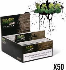 JASS FEUILLES SLIM Brown Lot de 50 paquets de 33 feuilles Non Blanchi Made in FR