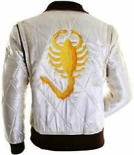 Para Hombre Ryan ansarón DRIVE Escorpión de Satén Bordado Chaqueta elegante-Tamaño Extra Grande