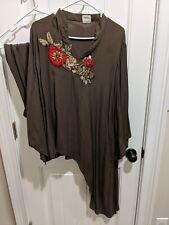 Pakistani Designer Trendy Outfit Size M - light stain