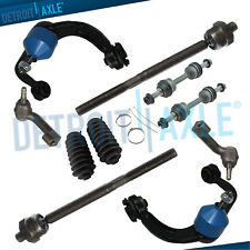 2007-2015 Expedition Navigator 10pc Kit Tie Rod Sway Bar Ball Joint Control Arm