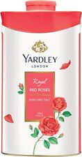 Yardley London Royal Red Rose Perfumed Talc 250 Grams