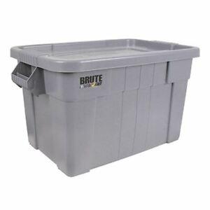 Brute Tote Box/Lid 75L Grey 382216 - SBY24308