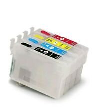 Empty Refill Ink Cartridges For Epson 200XL For Workforce WF2520/2640/2530/XP310