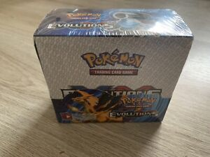Pokemon - XY Evolutions - 36 Booster Box Proxy Display | Glurak Neu In Folie Eng