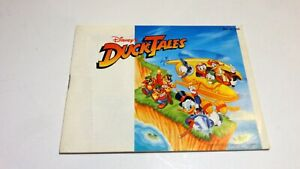 Duck Tales Tails Ducktales NES Nintendo Instruction Manual Only