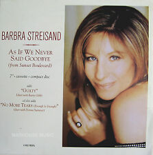 BARBRA STREISAND Display CARD Poster As If UK We Never Said In-Store PROMO ONLY