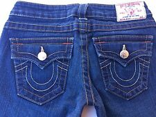 True Religion Billy Size 26 Womens Jeans Cut # 605610 Style 10-572  EUC    C88