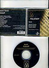 CD SET-FALSTAFF-VERDI- LIVE 1951 VINTAGE LA SCALA-DE SABATA/TEBALDI/STABILE-VG+